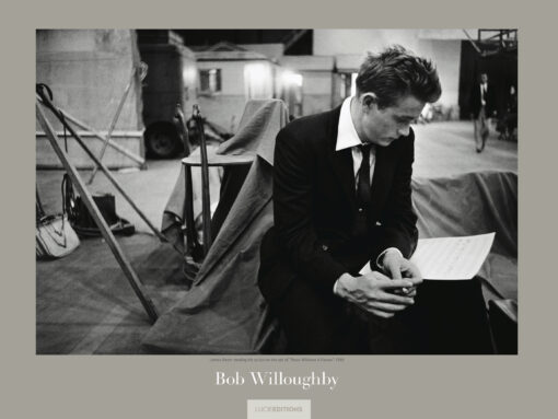 Revised Bob Willoughby James Dean poster